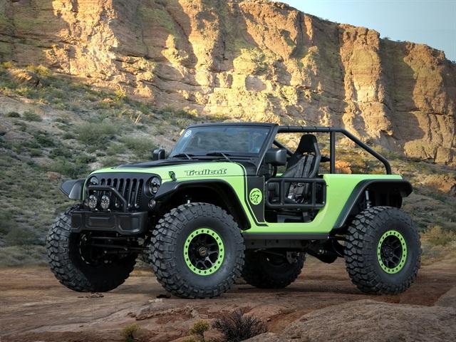 Jeep Trailcat Concept. Photo: FCA