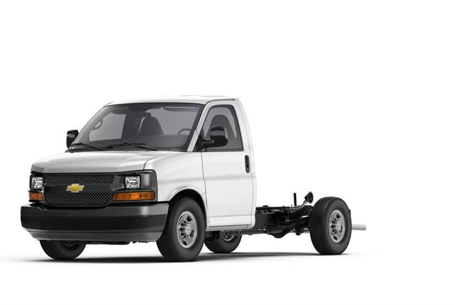 Photo of Chevrolet Express cutaway van courtesy of General Motors.