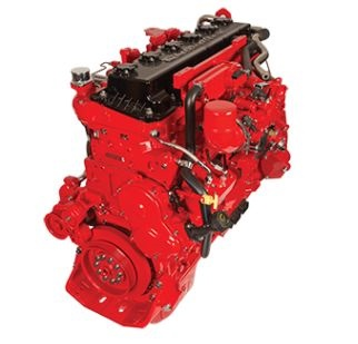 The Cummins Westport ISX12 G natural gas engine is a larger-displacement natural gas engine suitable for a variety of heavy-duty vehicles, including regional-haul truck/tractor, vocational, and refuse applications. (Photo courtesy of Cummins, Inc.)
