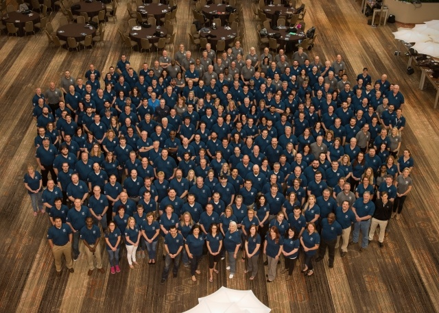 More than 300 of Daimler Truck North America's personnel and dealer network came together to share best practices during the CIC Summit. (Photo courtesy of DTNA)