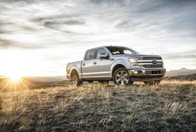 Photo of 2018 Ford F-150 courtesy of Ford.