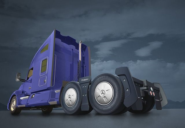 Kenworth now offers the FlowBelow Tractor AeroKit as a T680 option. Photo: Kenworth
