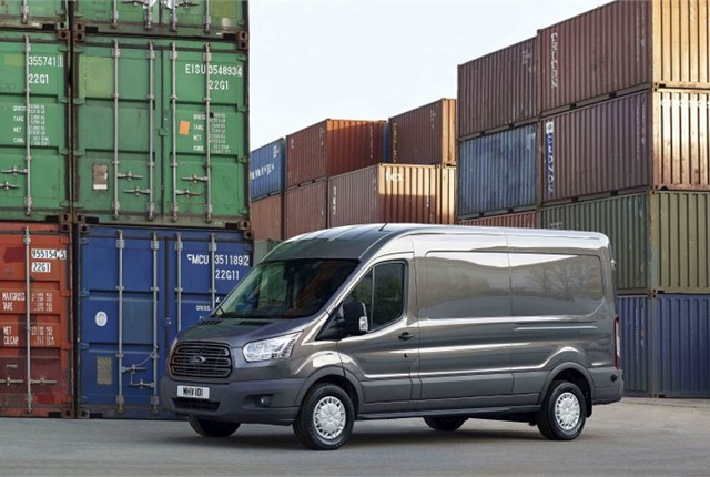 Photo of Transit sold in Europe courtesy of Ford.
