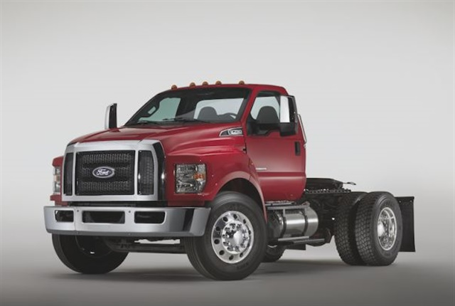 Photo of F-650 courtesy of Ford.