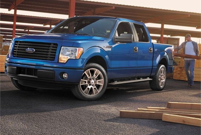 Photo of 2014 F-150 courtesy of Ford.