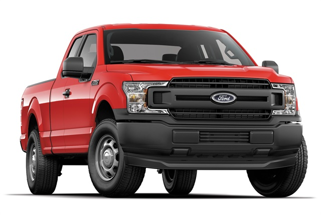Photo of 2018 F-150 XL courtesy of Ford.