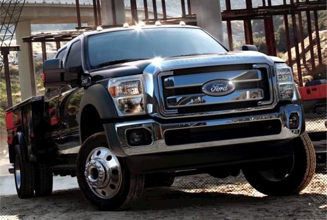 Photo of 2011 F-550 Super Duty courtesy of Ford.
