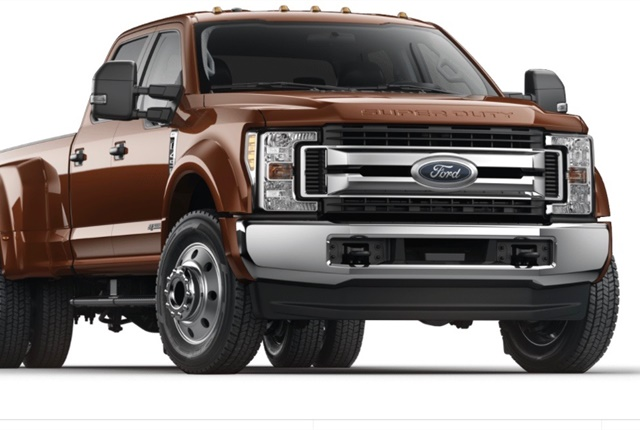 Photo of Ford F-450 courtesy of Ford.