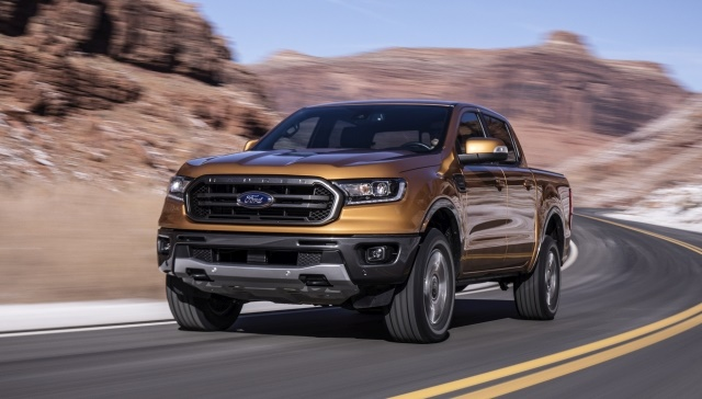 Photo of 2019 Ford Ranger courtesy of Ford Motor Co.