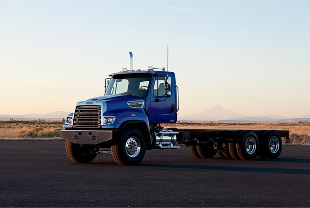 The Freightliner Trucks severe duty line features tough trucks that are dependable, efficient and built to withstand the most challenging of vocational applications.