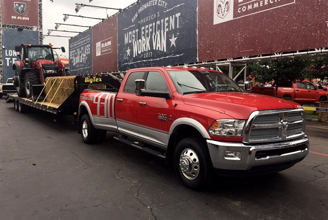 Photo of the 2018 Ram 3500 Harvest Edition by Paul Clinton.