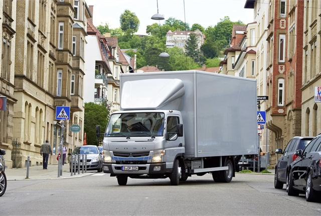 Fuso Canter Eco Hybrid