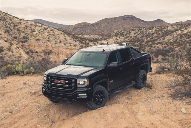 Photo of 2016 GMC Sierra All Terrain X courtesy of GM.