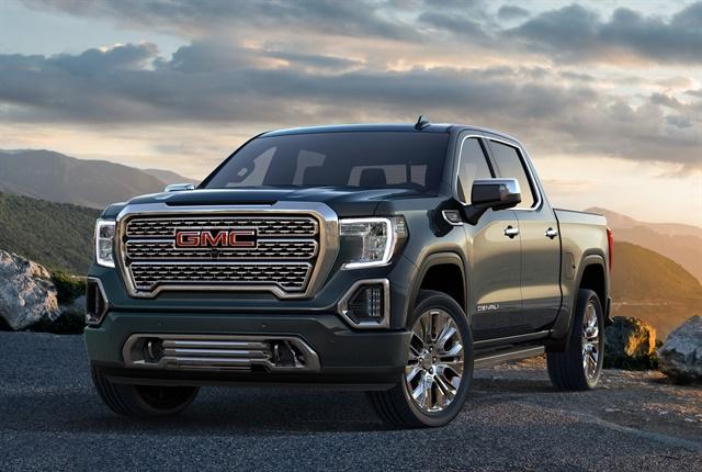 Photo of 2019 GMC Sierra courtesy of GM.