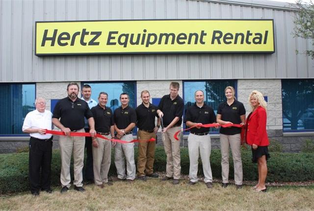 hertz rental equipment: