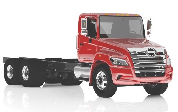 The XL will be available in both straight truck (pictured) and tractor configurations. Photo: Hino Trucks