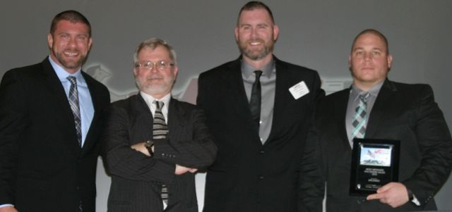 Orlando Branch Factory representatives (left to right) Darin Damron, R.B. Burkhardt, Shelby Damron, and Dante Donati.