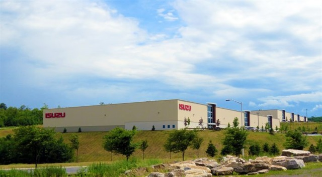 Isuzu's new Center of Excellence facility. Photo: Isuzu Commercial Truck of America