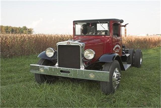 1931 Kenworth Model N restored by Dave Schroyer of Celina, Ohio.