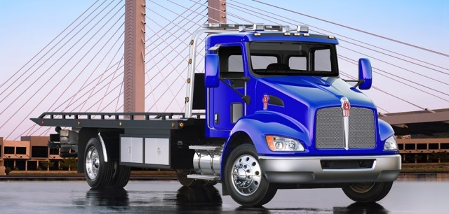 The Kenworth T370 is just one of many vocationa trucks Kenworth offers fleets. (Image courtesy of Kenworth)