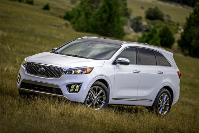 Photo of 2016 Sorento courtesy of Kia.