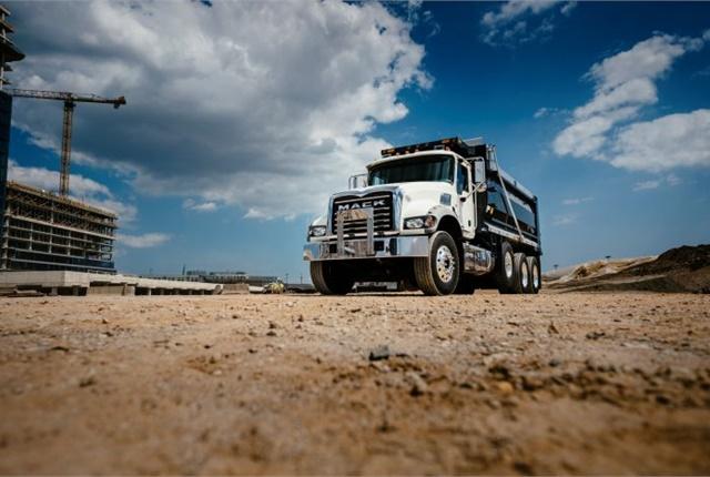 The Mack Granite dump model. Photo: Mack Trucks