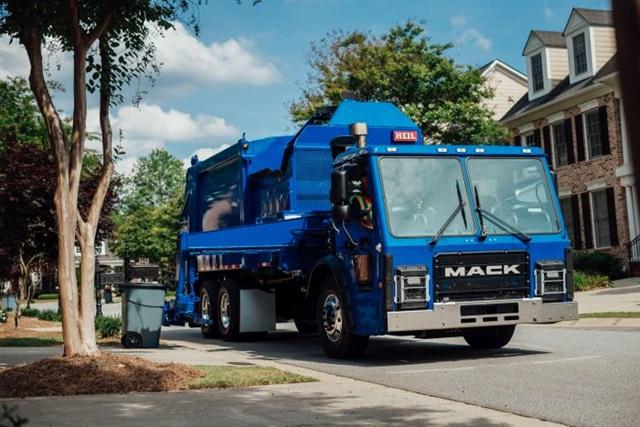 Mack LR model refuse truck Photo: Mack Trucks