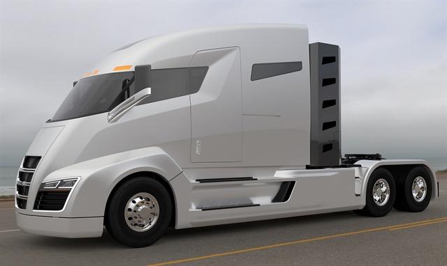 The Nikola One concept truck Image: Nikola Motors