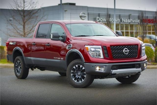 Photo of 2016 Titan XD courtesy of Nissan.