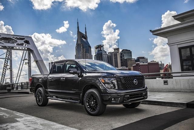 Photo of Titan XD Midnight Edition courtesy of Nissan Motor Co.