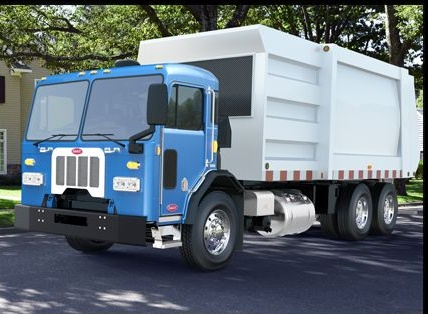 Image of Peterbilt Model 320 courtesy of Peterbilt.