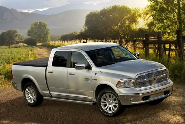 Photo of Ram 1500 EcoDiesel courtesy of FCA.