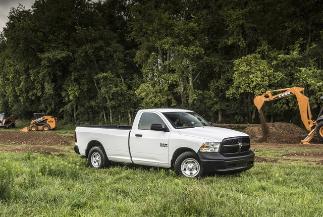 Photo of 2018 Ram 1500 Tradesman regular cab long bed courtesy of FCA.