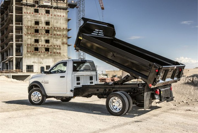 Photo of 2016 Ram Chassis Cab courtesy of FCA US.
