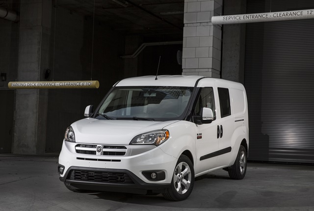 Photo of 2018 Ram ProMaster City Tradesman courtesy of FCA.