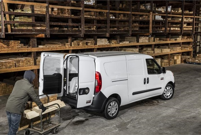 Photo of Ram ProMaster City van courtesy of FCA US.