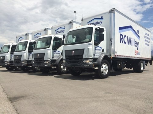 RC Wiley now has 30 K270 straight trucks in its 130-unit fleet. Photo: Kenworth Truck
