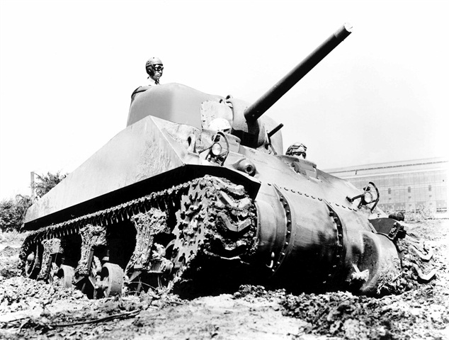 A U.S. Sherman Tank built by Chrysler for the U.S. war effort in World War II. Photo: FCA US
