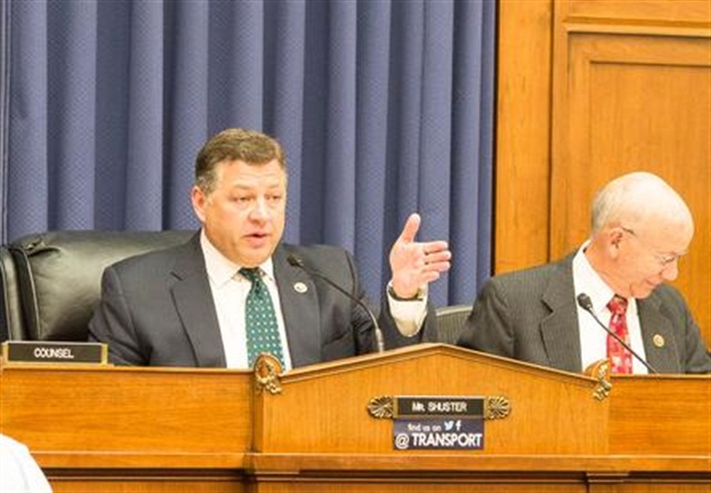 Rep. Bill Shuster, Chairman of the House T&I Committee