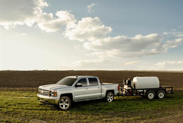 The Chevrolet Silverado 1500 is among the recalled models. Photo courtesy of GM.