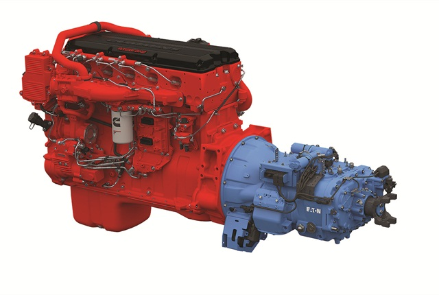 Latest Smart Advantage powertrain uses 2017 ISX15 and an automated transmission with a direct-drive 10th gear.