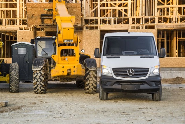 Photo of Sprinter Worker courtesy of Mercedes-Benz.