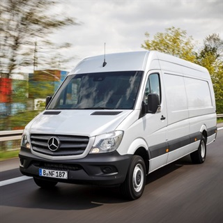 A Sprinter cargo van in Europe. Photo: Daimler
