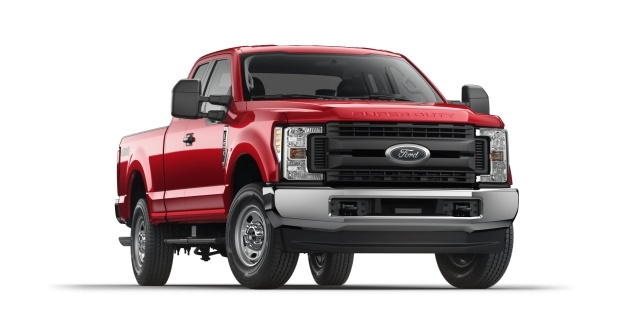 Oil and gas extraction: Ford F-250 Super Duty 4x4 SuperCab XL (Photo courtesy of Ford Motor Co.)