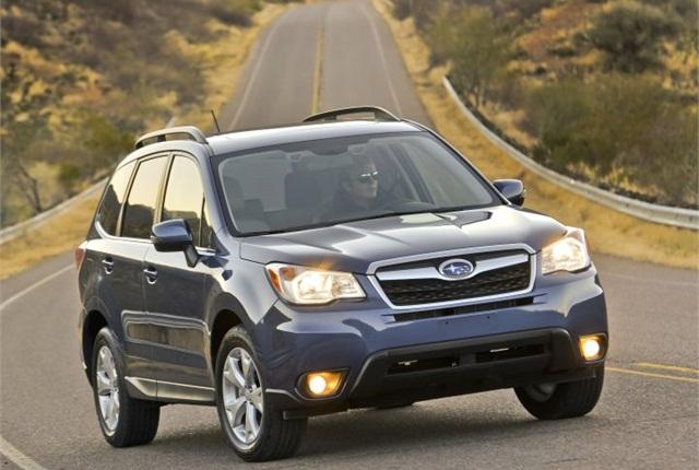 2014 Subaru Forester 2.5i photo courtesy of Subaru.