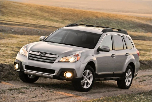 Photo of 2014 Outback courtesy of Subaru.