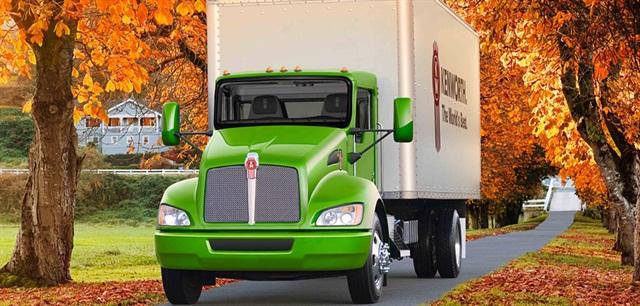 Photo of Kenworth T270 medium-duty truck model courtesy of PACCAR.