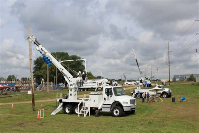 Photo courtesy of Terex. A previous Terex Hands-On Training event.