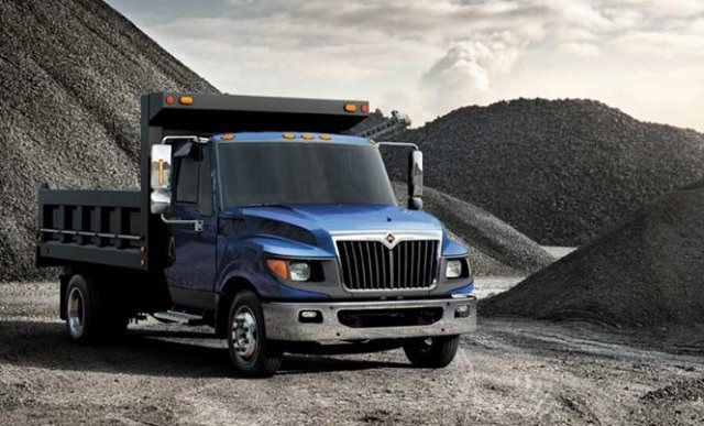 A Class 5 International TerraStar Dump Truck. (Photo: Navistar)