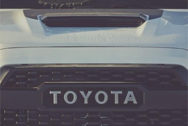 Photo courtesy of Toyota.